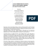Comentario de Texto de Juan Ramón Jiménez