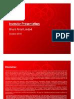 Investor Presentation Oct10