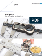 Brochure, TESA Standard calipers EN (1)