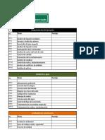 tabla criterios de evaluacion existentes