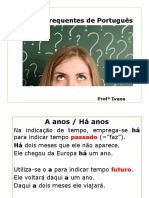 Dúvidas Frequentes de Português