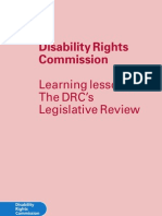 The DRC's Legislative Review