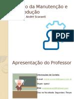 Gestão da Manutenção e da Produção - Aula 1 - Apresentação.pptx