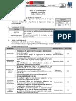 FICHA DE ACTIVIDAD  UD 1 Y 2 SEMANA 1- Niels