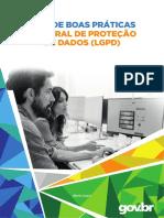 GUIA DE BOAS PRÁTICAS - LEI GERAL DE PROTEÇÃO DE DADOS (LGPD)