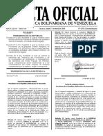 Gaceta Oficial Extraordinaria 6.531