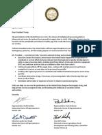 President Trump - Pork Industry Letter 4.27.20