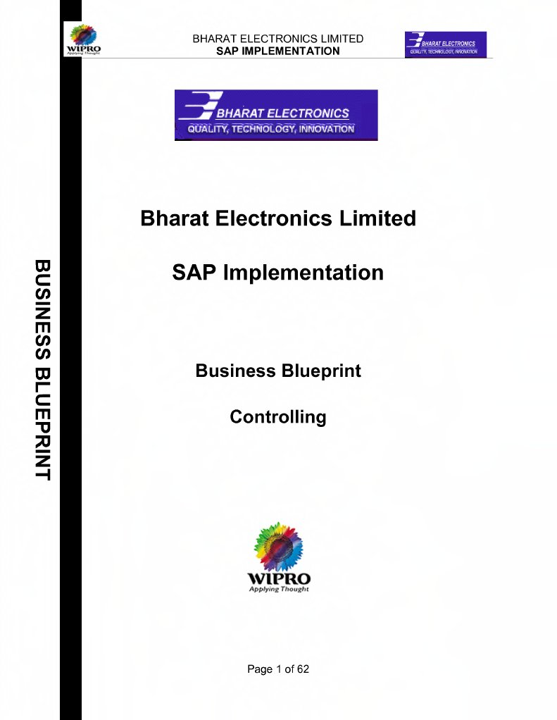 Sap co business blueprint malvernweather