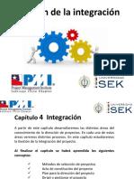 Introducción Director de Proyectos  capitulo 4 Integración