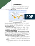 SITUACIÓN MUNDIAL DEL DENGUE AL 2014