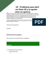 problemas paint