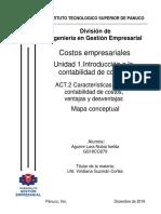 Características de la contabilidad de costos, ventajas y desventajas