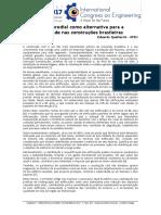 Artigo 8 - Reabilitação predial como alternativa para a sustentabilidade nas construções brasileiras