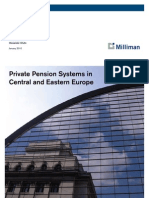 Milliman Private Pensions in CEE 01-2010