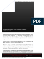El nuevo Reglamento de los productos orgánicos - Revista Panorámica