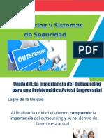 Outsourcing y Sistemas de Seguridad - Sesión IV