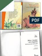 Libro Mitos y leyendas de la Argentina... Iris Rivera (1)