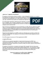 PRESENTACION DEL LIBRO DE REGISTRO DEL MUNDO  LoTW