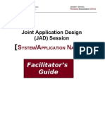 TEMPLATE JAD Session Facilitator Guide