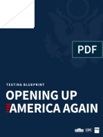 White House Testing Blueprint For Opening Up America Again
