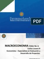 Taller No 1 macroeconomia