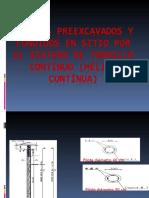 AA PILOTES PREEXCAVADOS Y FUNDIDOS EN SITIO - TORNILLO CONTINUO