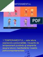 psihologie temperament