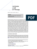 Gastric Adenocarcinoma Surgery and Adjuvant Therapy