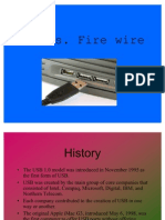 USB vs. Fire Wire