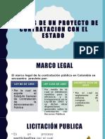 EXPO CORTE 3 ANALISIS DE UN PROYECTO DE CONTRATACION CON EL ESTADO