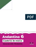 Andantino 6. Cuaderno de música. educación primaria.pdf