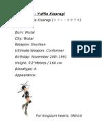 Character Info - Yuffie Kisaragi