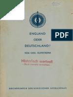 Karl Olivecrona - England Oder Deutschland (1941)