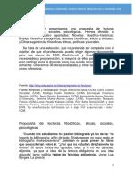 Propuesta de Lecturas Filosóficas (2)