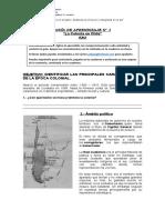 Guia de historia N°1 La colonia en chile