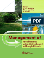 (WIT transactions on ecology and the environment volume 99) C. A. Brebbia - Management of Natural Resources, Sustainable Development And Ecological Hazards -WIT Press _ Computational Mechanics (2006).pdf