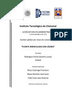 INSTITUTO TECNOLOGICO DE CHETUMAL PORTADA