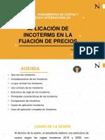 Sesión 2 Aplicación de Incoterms en la fijación de precios 2020-1