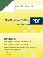 DSM_IV y CIE_10 Clasificación.