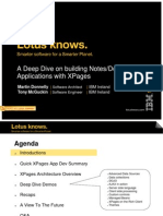 A Deep Dive on building Notes/Domino Applications with XPages
