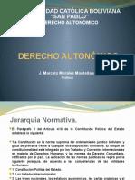Derecho Autonómico. Jerarquia normativa 11