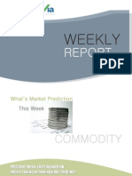 Bullion Commodity Reports for the Week (27th - 31st December - 2010)