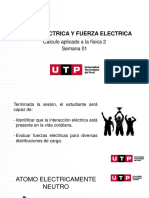 S01.s2 - Carga Eléctrica y Fuerza  eléctrica