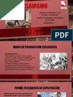 Modo de producción esclavista.