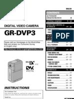 Jvc Dvp3a Manual
