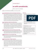Interaccion farmacologica cannabis 2020