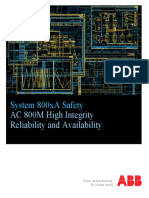 3BSE034876 System 800xA Safety AC800M High Integrity Reliability and Availability Manual.pdf