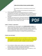 Propiedades funcionales de las interacciones proteína-lípido (1)