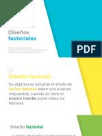 Unidad IV. Diseños factoriales