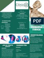 folleto clinica